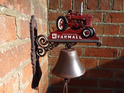 Farmall tractor bell