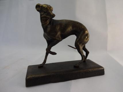 Whippet figure