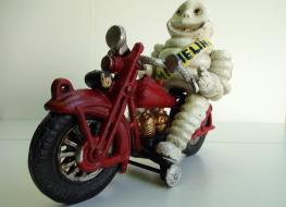 Michelin Man On Motorcycle