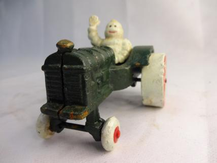 Michelin on tractor figure