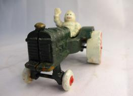 Michelin on tractor figure
