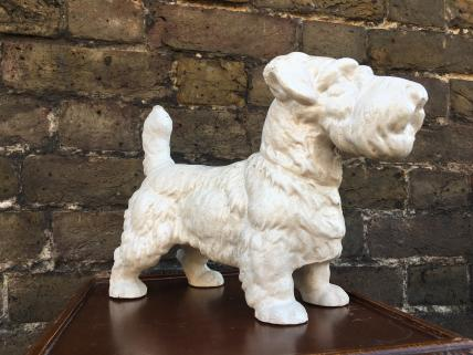 Scottie dog figure