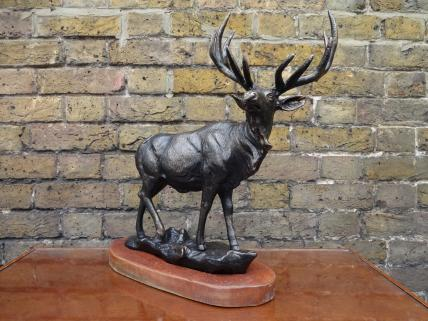 Stag figure