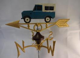 Land rover weather vane -wall mount