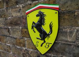 Ferrari wall plaque