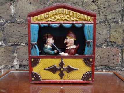 Punch & Judy moneybox