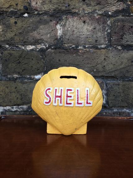 Shell money box