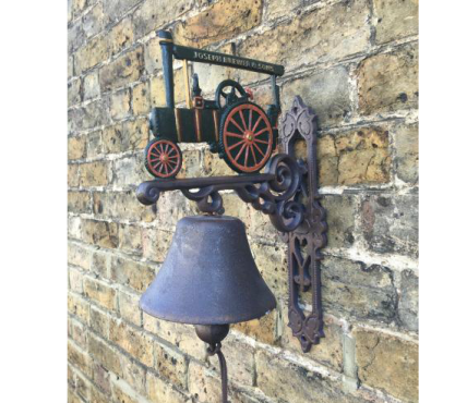 Traction engine bell