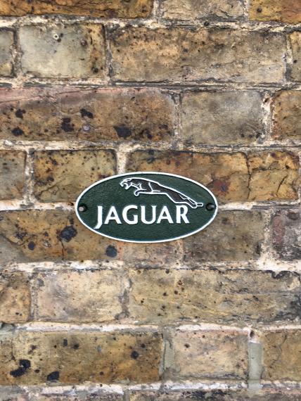Small Jaguar wall plaque