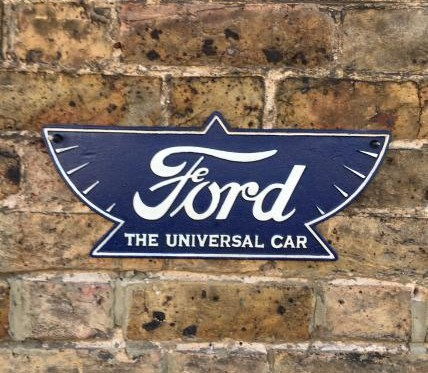 Old Ford plaque