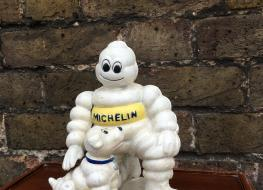 Michelin with dog figure