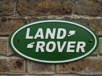 Land Rover sign -large