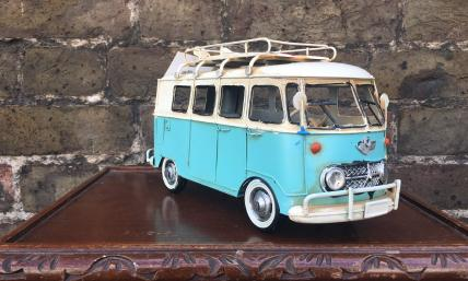 Tinplate model camper van