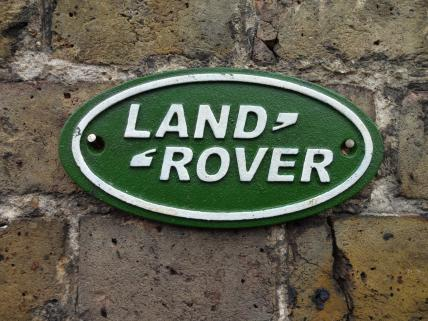 Land Rover sign -small