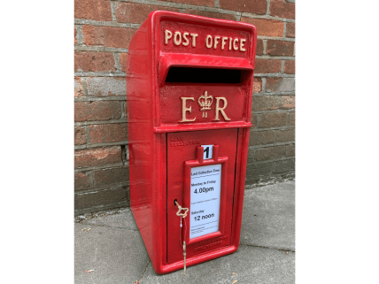 Royal Mail Letter Box.Cast Iron Royal Mail Post Box Cast Iron Wholesale