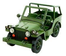 Tinplate model army jeep