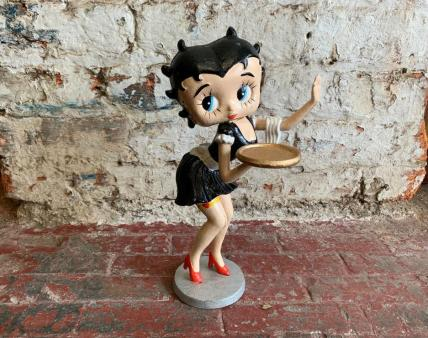 Betty Boop waitress figure