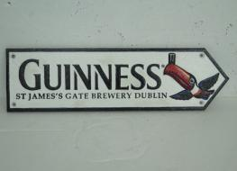 Guiness Toucan sign