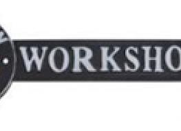 BMW workshop arrow plaque