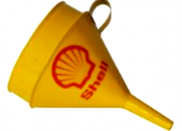 Shell funnel 18cms -decorative