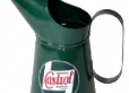 Castrol oil jug 4 Litres -decorative