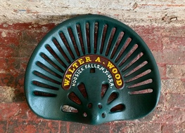 Walter Wood tractor seat