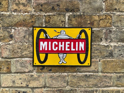 Michelin with 2 tyres plaque