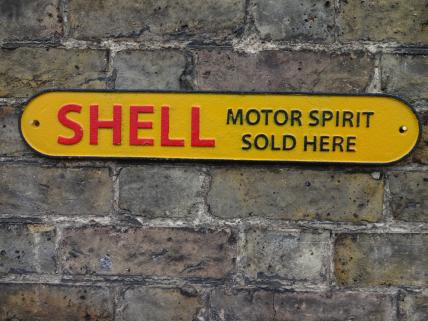 51cms Shell sign