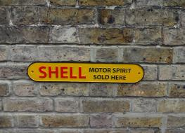 Small shell sign