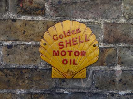 Golden Shell plaque