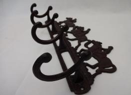 Racehorse coat rack
