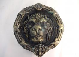 Lion Head Doorknocker