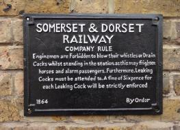 Somerset & Dorset Sign