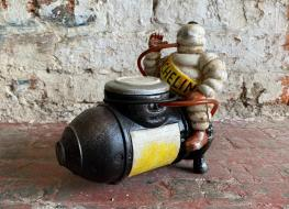 Michelin Man Air Compressor Figure