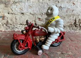 Michelin Man On Motorcycle