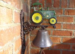 green tractor bell