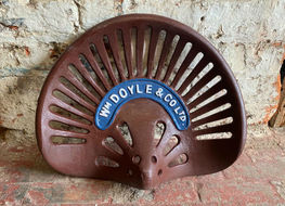 Doyle tractor seat