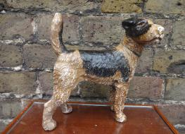 Airdale dog figure