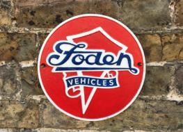 Foden vehicles plaque