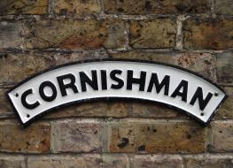 Cornishman plaque