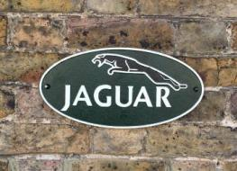 Large Jaguar wall plaque