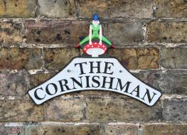 "Cornishman ""Pixie"" plaque"