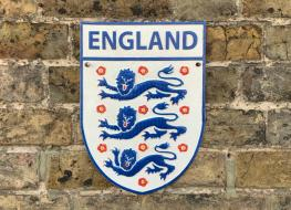England football plaque