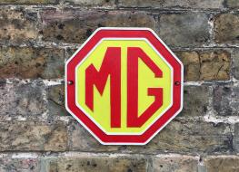 MG motors wall plaque