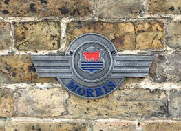 Morris wall plaque