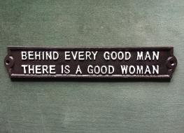Good woman sign