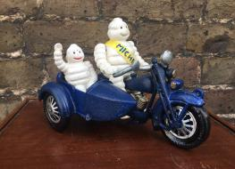 Michelin on motorcycle & sidecar