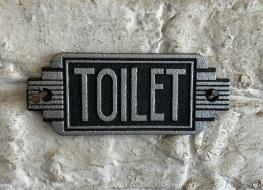 Art Deco Toilet sign