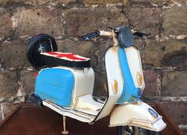 model Lambretta scooter