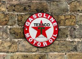 Texaco wall plaque